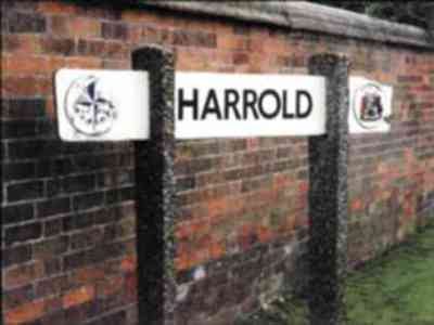 Harrold Sign