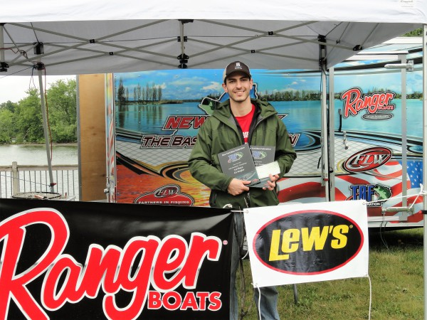 First Place Co-Angler - Kevin Grist