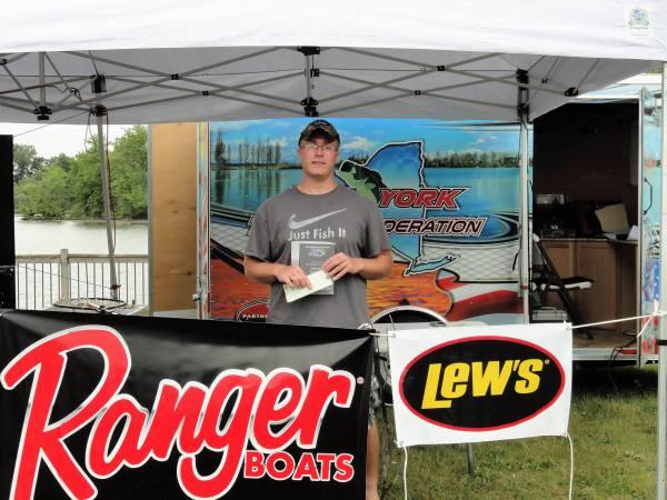 3rd Place Co-Angler - Steve Phipps