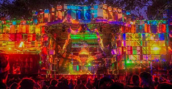 Market Stage @ Rainbow Serpent Festival 2017