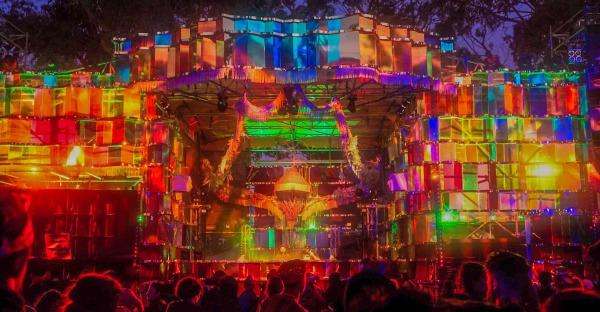 Market Stage @ Rainbow Serpent Festival 2017