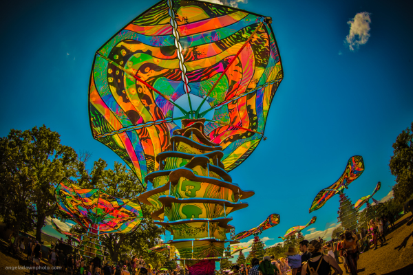 Woogie Stage @ Lightning in a Bottle 2018