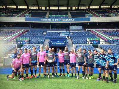 The Scotland World Cup Rugby Squad (August 2015)