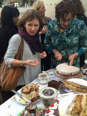 Yet more cake for IBC  (18 November 2015)