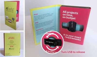 USB Stick & Wallet