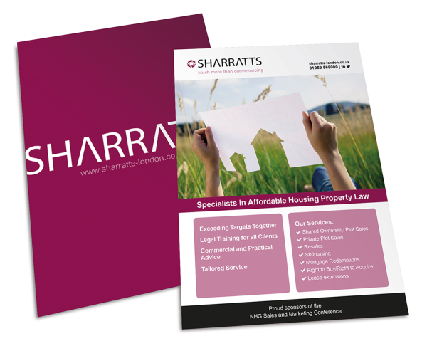 Sharratts | Flyer