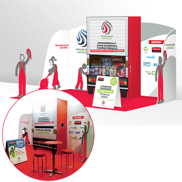 Supplies House | Exhibition Stand