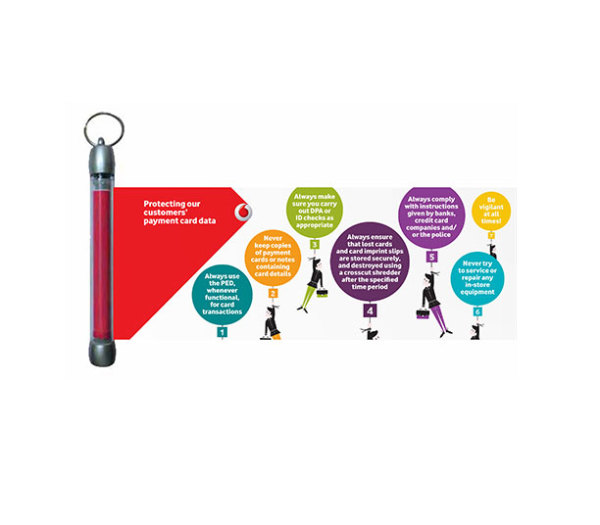Vodafone | Keyring banner