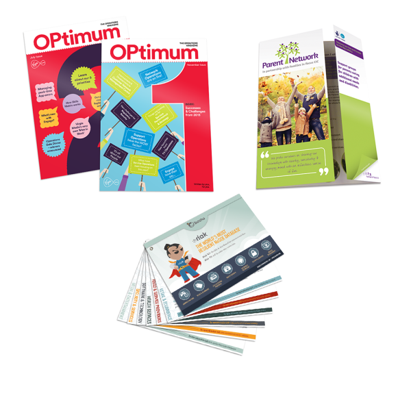 PRINT | LEAFLETS | ADVERTS | PUBLICATIONS >