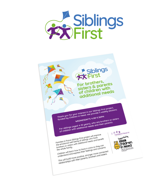 Siblings First | Leaflet