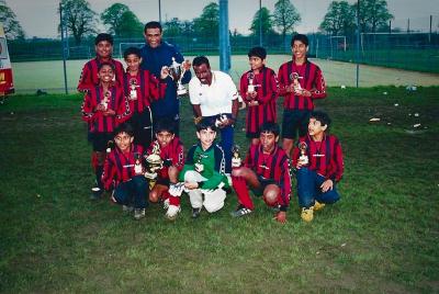 TRO U12 Champions 2001