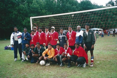 British Telecom - Inner City World Cup Eelam Rep Team Coach
