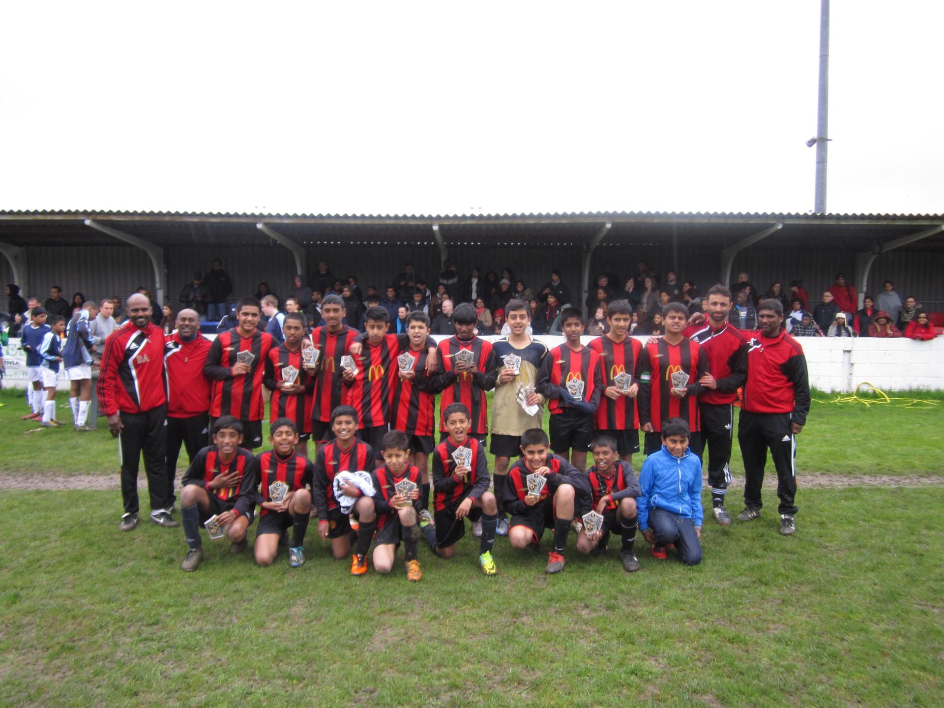 East London Christian League Cup Finalist 2012