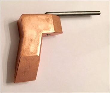 Acetylene Duplex Soldering Axe Iron .75# Tip