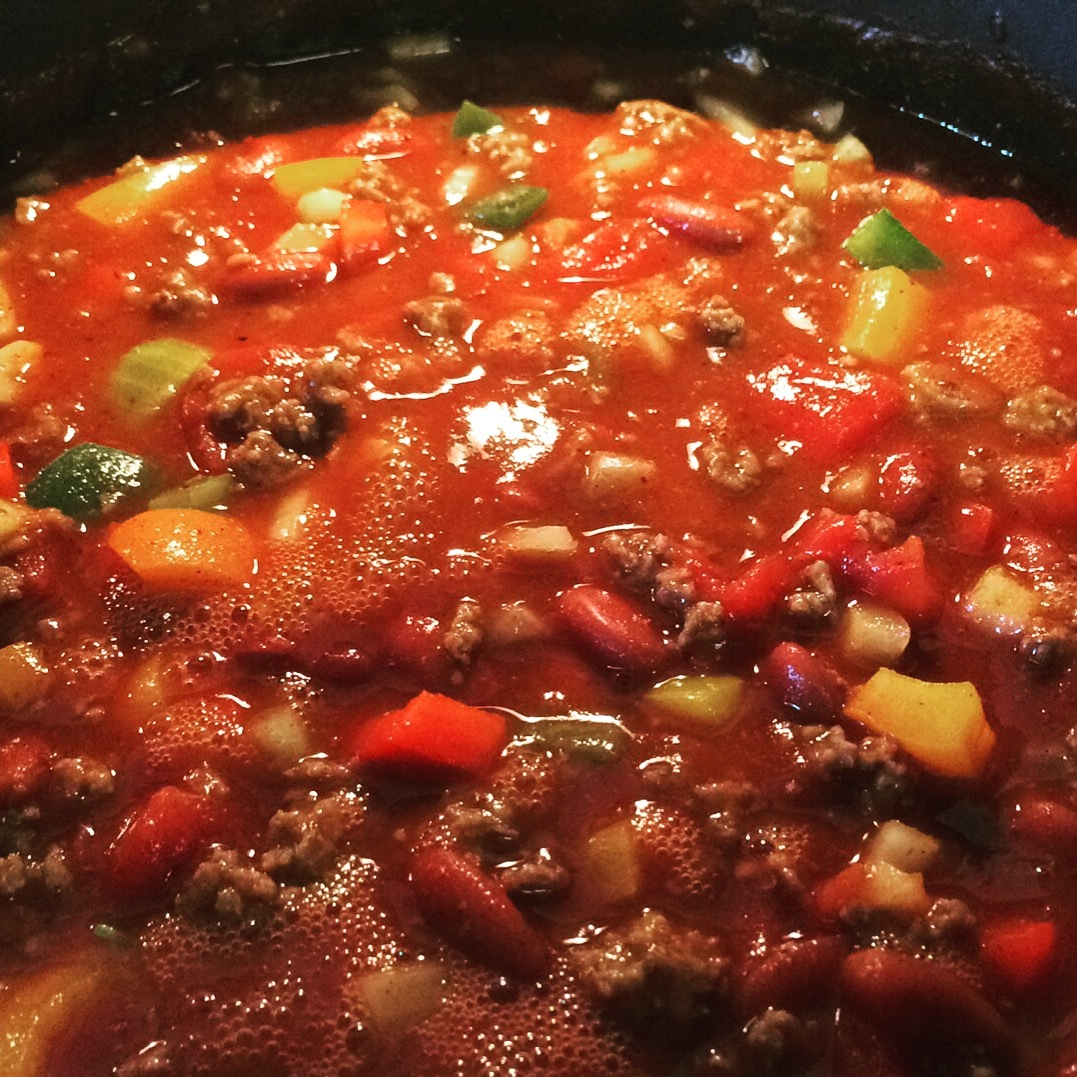Recipe:  Roy's Beef N' Bean Chili
