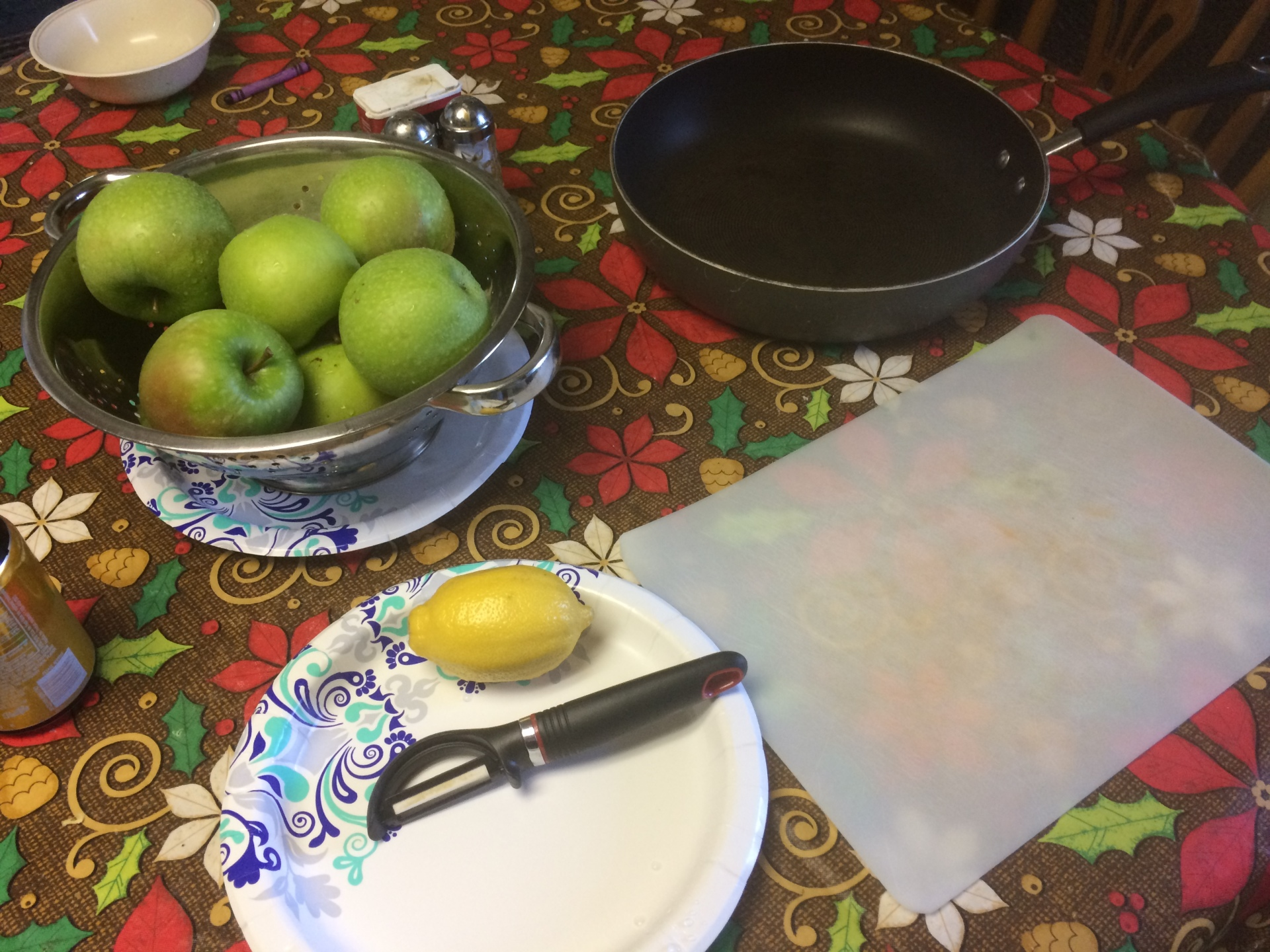 Recipe:  Granny Smith Green Apple Pie