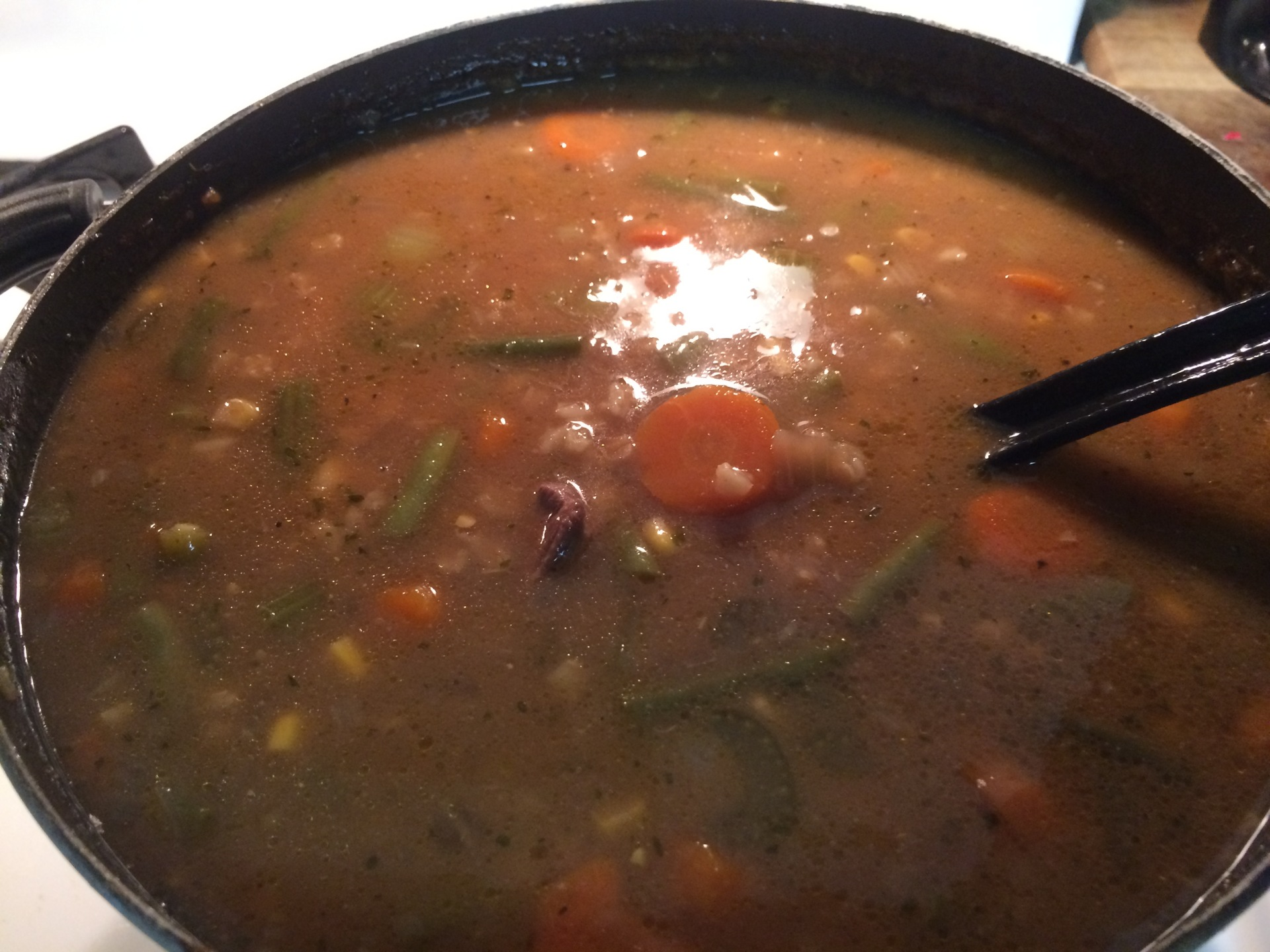 Recipe: Vegetable Beef Barley Soup
