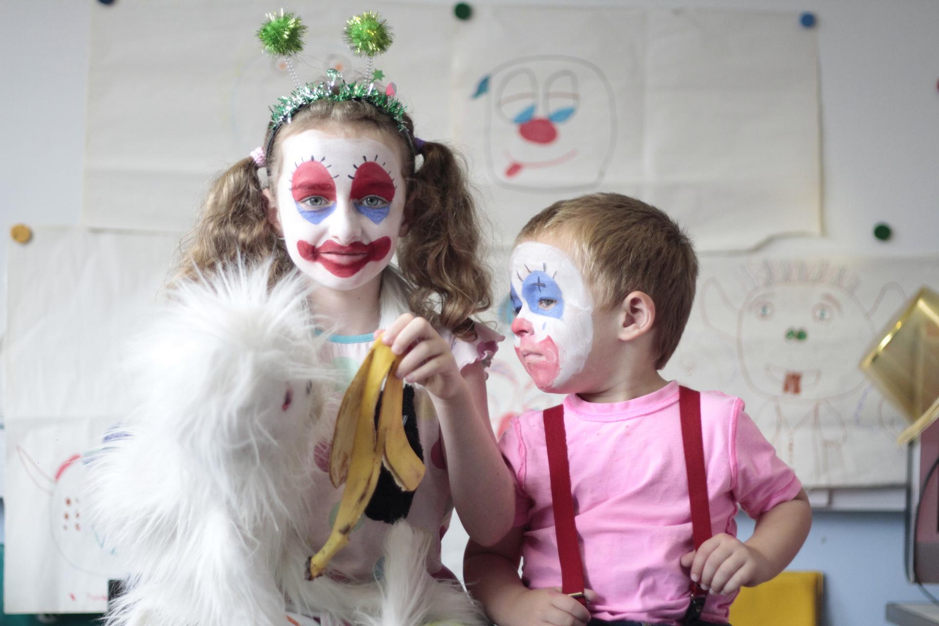 Clown School an anti-bullying workshop