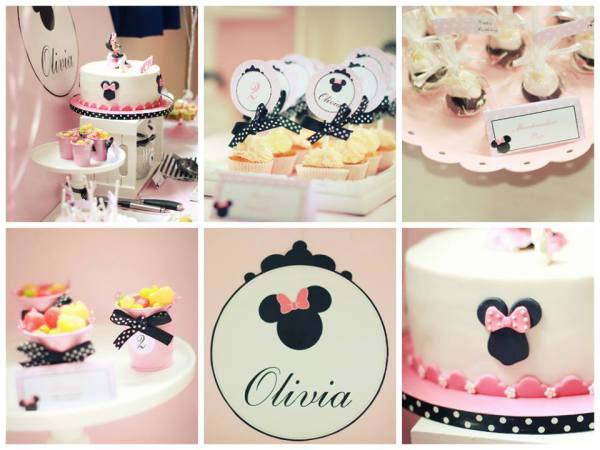 Minnie Mouse Treats amd styling