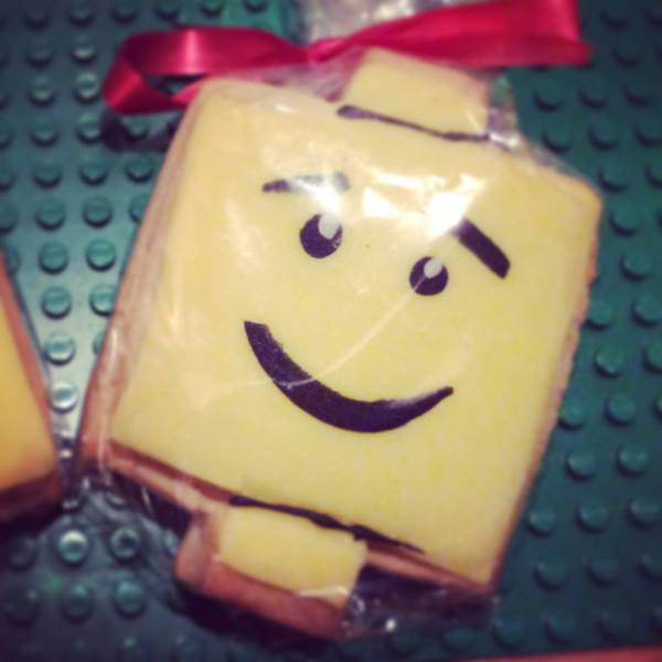 Lego Cookie Favours
