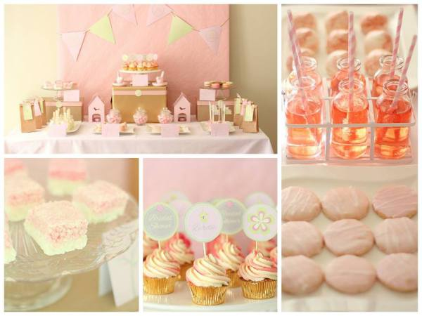 bridal shower vintage tea hen party
