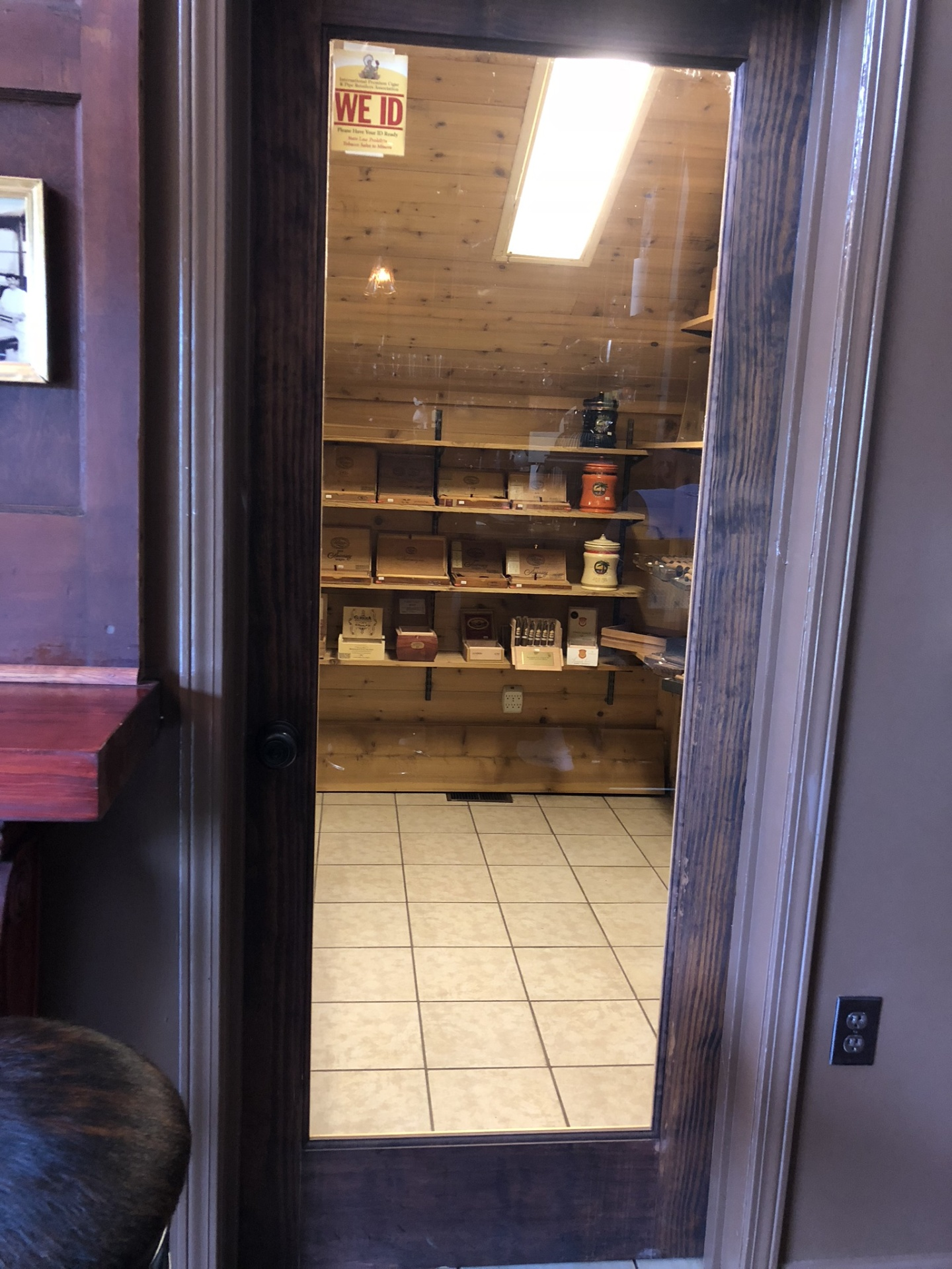 The Walk-in Humidor