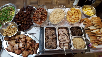Maria and son catering