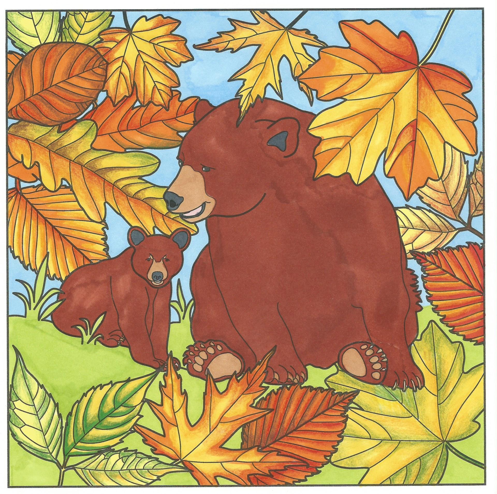 Bears in Autumn