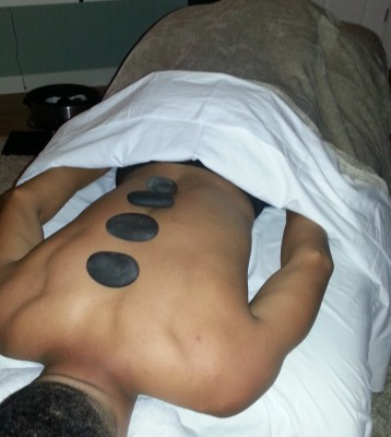 Hot Stones with a massage