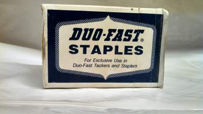 Duo-Fast 18 Gauge Aluminum Narrow Crown Staples 16M / Box $35.00