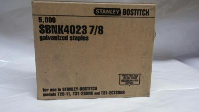 "Bostitch SBNK4023 7/8 "" Galvanized 5M / Box $10.00"