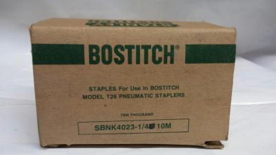 "Bostitch Galvinzed Staples SBNK 4023 1/4"" 10M / Box $5.00"