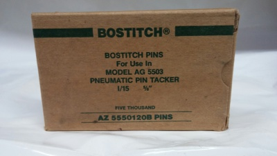 Bostitch AZ 5550120B 5/8 PINS 5M / BOX $5.00