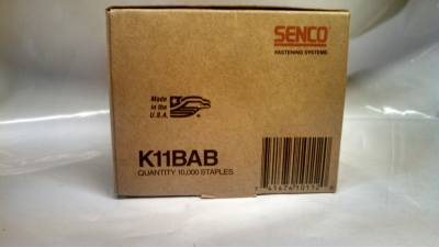 "Senco K11BAB 3/4"" X 1/4"" 19 GA Galvanized Staple  $12.00"