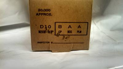 "Senco D10BABN 3/16"" X 5/8"" Galvanized Staples 20M / Box $22.00"