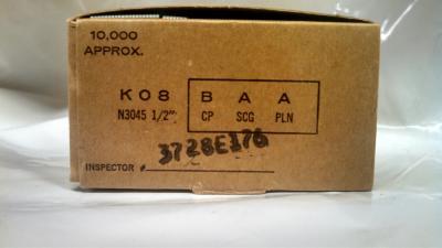 K08BAAP 12mm K Series Narrow Crown Staple