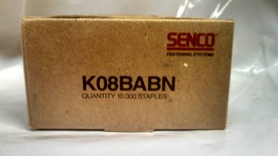 "Senco K08BABN 1/2"" X 1/4"" 19Ga Galvanized Staple $13.00"