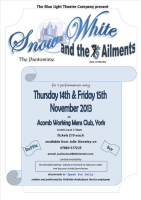 Snow White and the 5 Ailments poster