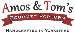 Amos and Tom's Gourmet Popcorn