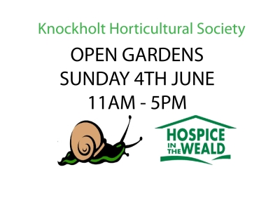 Knockholt Open Gardens 2017