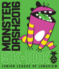Monster Dash 5/10K Longview