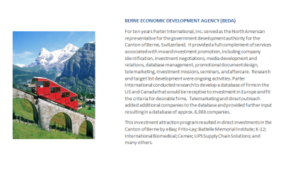 Berne Economic Development Agency