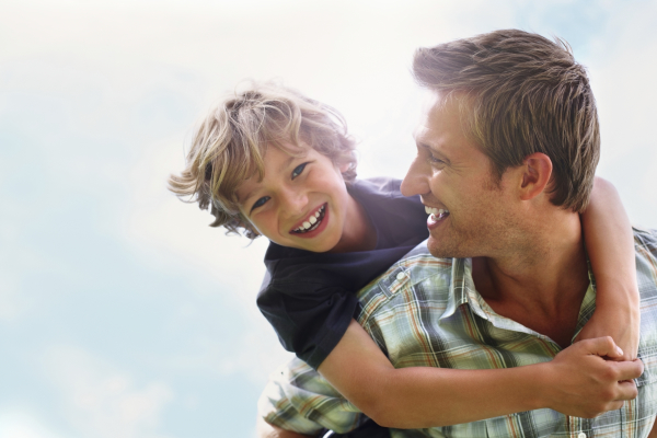 What being a father taught me about the Heavenly Father - talk at Serra Club, Carlsbad, CA.