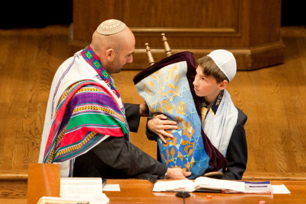 CHRISTIAN BAR MITZVAH