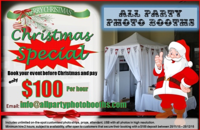 Christmas special $100 per hour