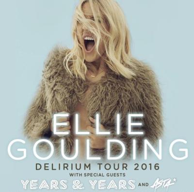 "Ellie Goulding to bring her ""Delirium Tour"" to Australia"