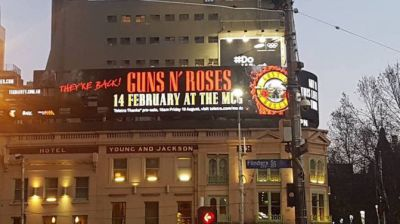 Guns 'n' Roses to tour Australia