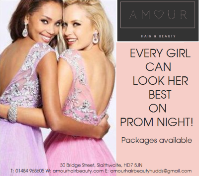 NOW EVERY GIRL CAN LOOK HER BEST ON PROM NIGHT!