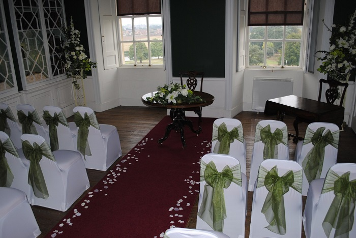 chair cover & sash hire Yorkshire