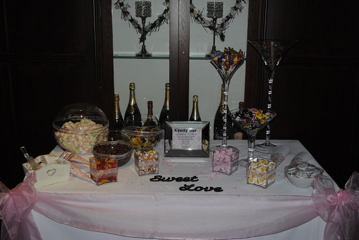 Sweet buffet table